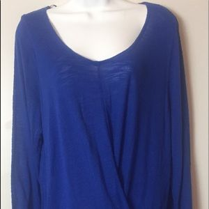 NWOT a.n.a Twist Front Long Sleeve Tunic